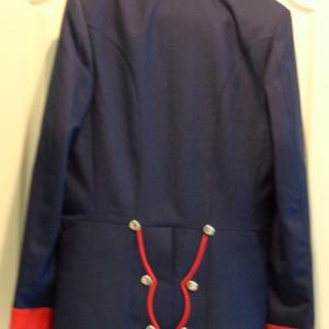 Prussian Repro Feldmarschal and General Officer Tunic Rear View